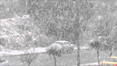صورة إسطنبول تتزين بالثوب الأبيض.. والأرصاد الجوية تحذر