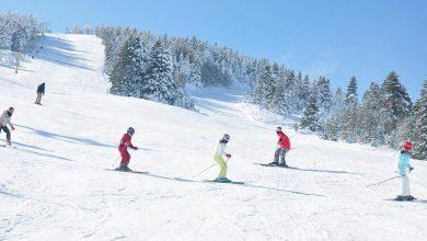 صورة بدء التزلج في منطقة أولوداغ التركية مع أول تساقط للثلوج