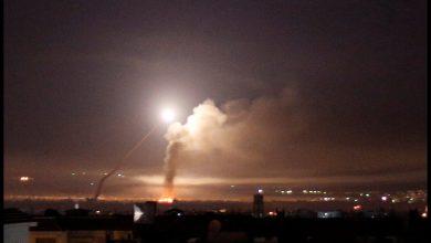 صورة قصـ.ـف إسرائيلي يستـ.ـهدف محيط دمشق وبطاريات دفاعات الأسد الجوية تتحطم .. وهذه التفاصيل !