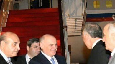 """صورة رئيس """"أبخازيا"""" يصل إلى دمشق.. ما سرّ العلاقة بين الطرفين؟"""