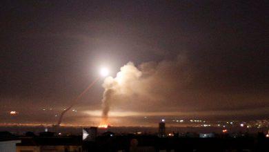 """صورة إسرائيل تستهدف مواقع """"حزب الله"""" اللبناني في القنيطرة باستخدام المروحيات"""