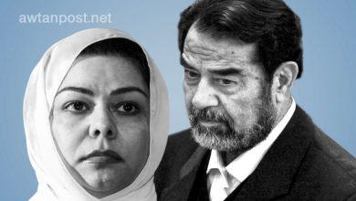 صورة رغد صدام حسين تنشر رسالة لوالدها بخط يده قبيل إعـ.ـدامه