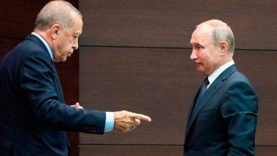 """صورة اتصال """"أردوغان – بوتين"""" تخرج عنه مصطلحات وتصريحات غامضة المعنى .. تعرٌف إلى أبرزها !"""