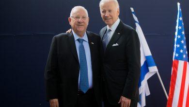 صورة لبحث الملف الإيراني وخطة إسرائيل الدفاعية .. بايدن يلتقي الرئيس الإسرائيلي في البيت الأبيض