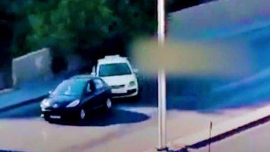 """صورة وكأنه فيلم مطاردة هوليودي ولكنه في دمشق"""" .. فيديو مثير لانزلاق السيارات خلف بعضها البعض في مشروع دمٌَر والسبب ؟!"""