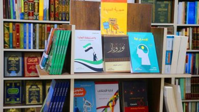 """صورة الأول من نوعه.. افتتاح """"معرض الكتاب"""" في مدينة إدلب شمال غرب سوريا"""